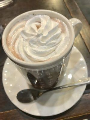 喫茶店のココア