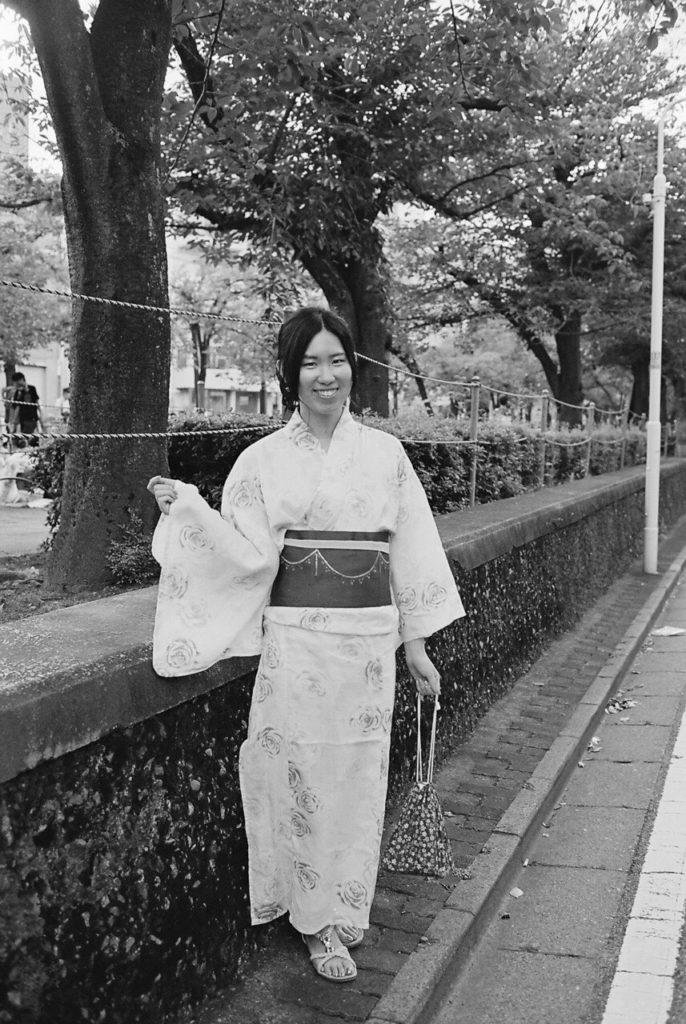 隅田川花火大会 浴衣